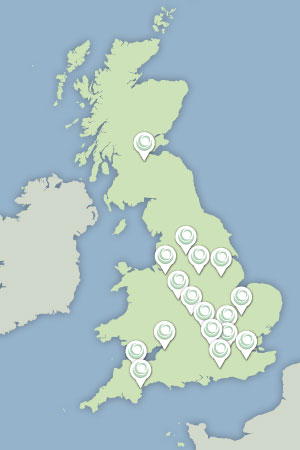 EnergyMyWay branches across the UK