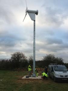 Kingspan Wind Turbine kw6
