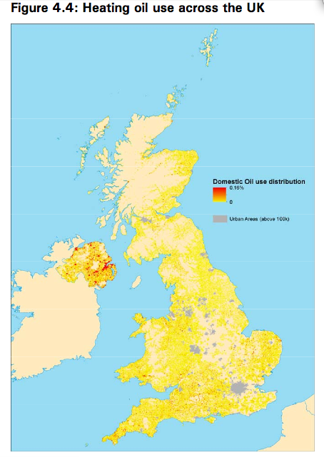 Heating Oil Usage in the UK
