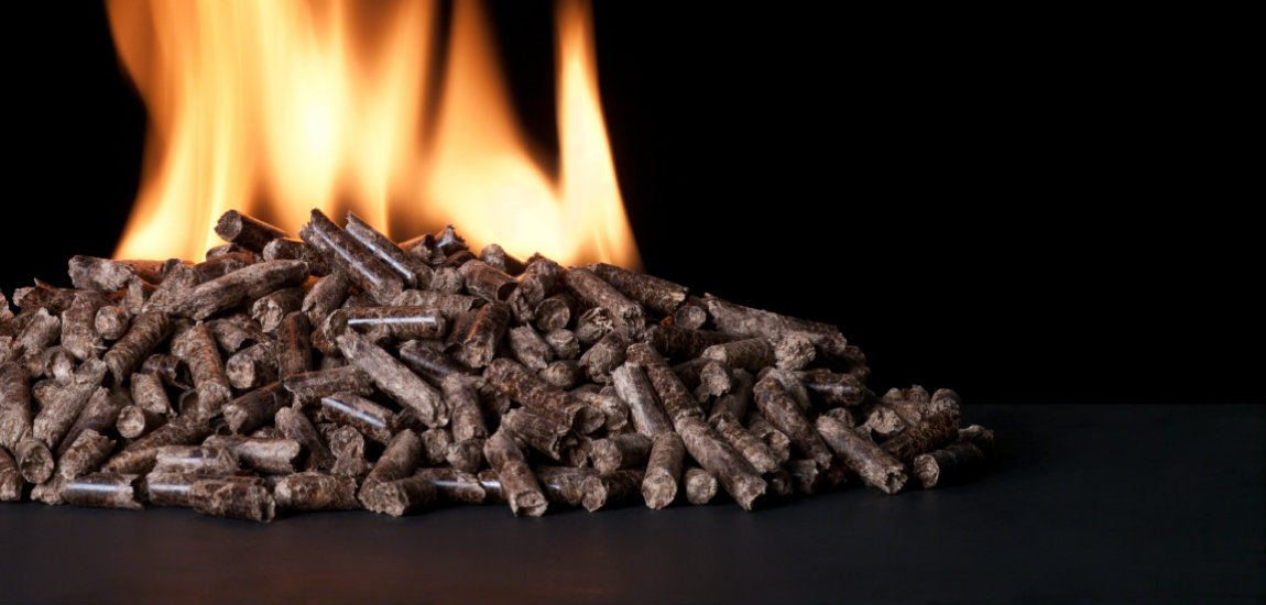 wood pellets for biomass boilers