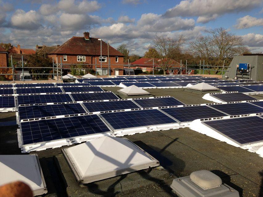 Solar Pv For Village School Lowers Electricity Bills