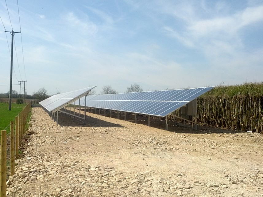 Solar Pv Installation Helps Farm Diversify Energymyway