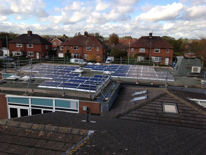 Solar Pv For Village School Lowers Electricity Bills