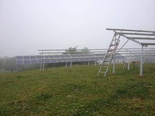 Ground mounted Solar PV at Lobbs Farm
