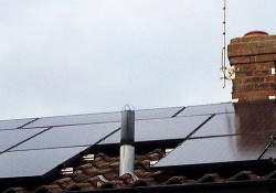 Slim Solar PV panels catch the light