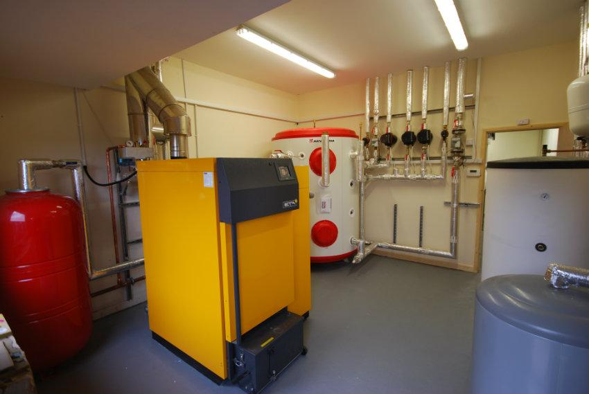 Boiler room at Jennings