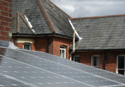 Solar PV on Victorian house