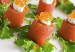 smoked salmon canape pic - medium - website pic