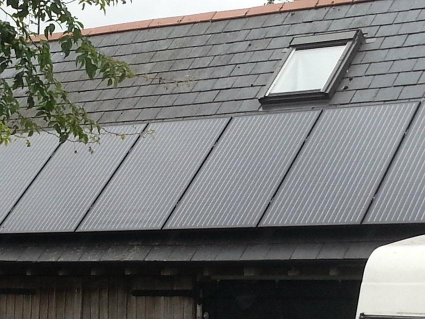 Solar PV installation