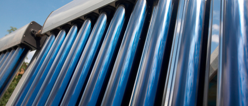 Solar Hot Water tubes