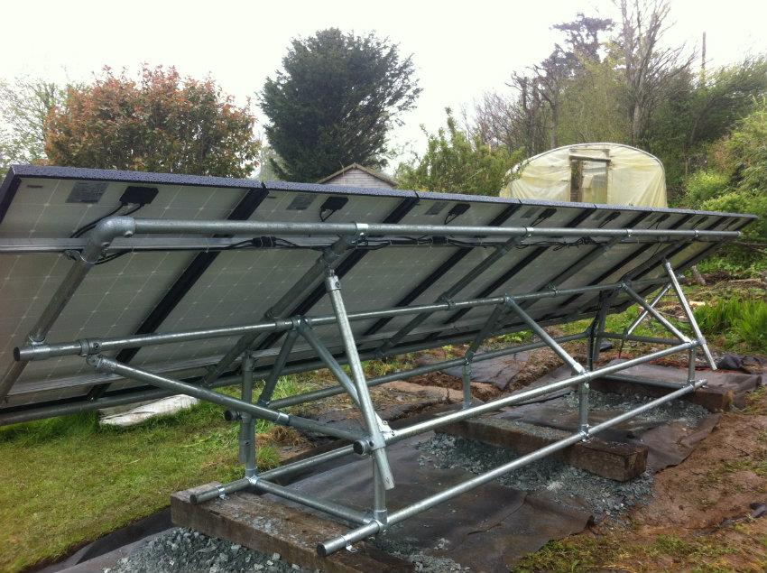 Ground Mounted Solar Panels Cornwall Energymyway