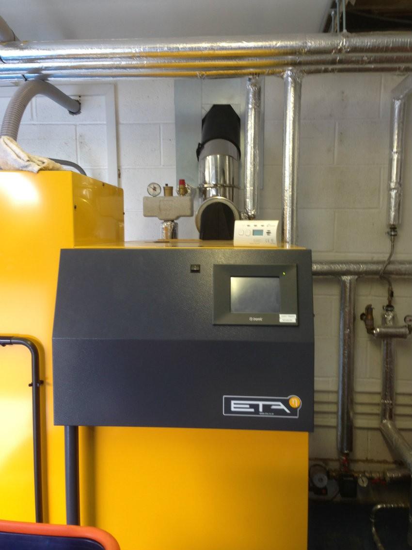 ETA boiler installed
