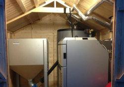 Effecta biomass boiler FI