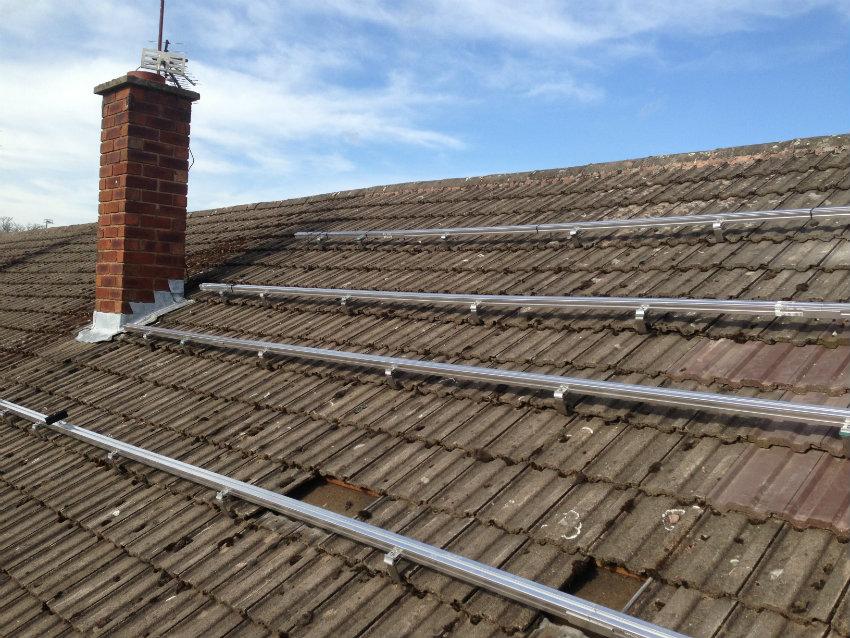 Solar PV rails