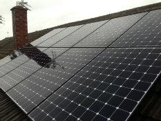 Sunpower Solar PV install