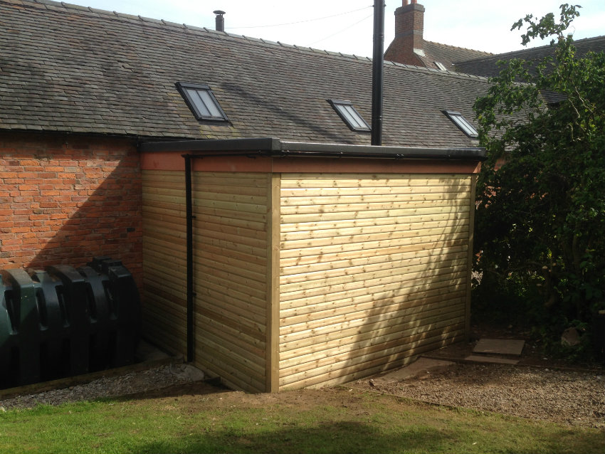 biomass fuel store complete