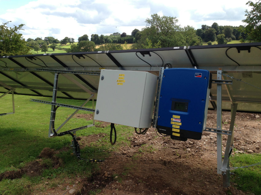 ground mounted Solar PV inverter