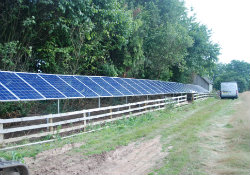 ground mounted solar PV FI