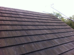 Hardy tiled roof