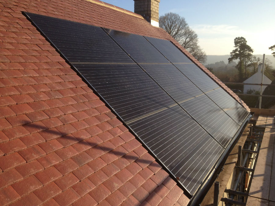 Roof Integrated Solar Pv Installation In Surrey Energymyway