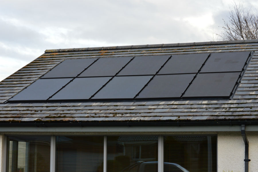 ... domestic solar panels see more case studies in roof solar panels are