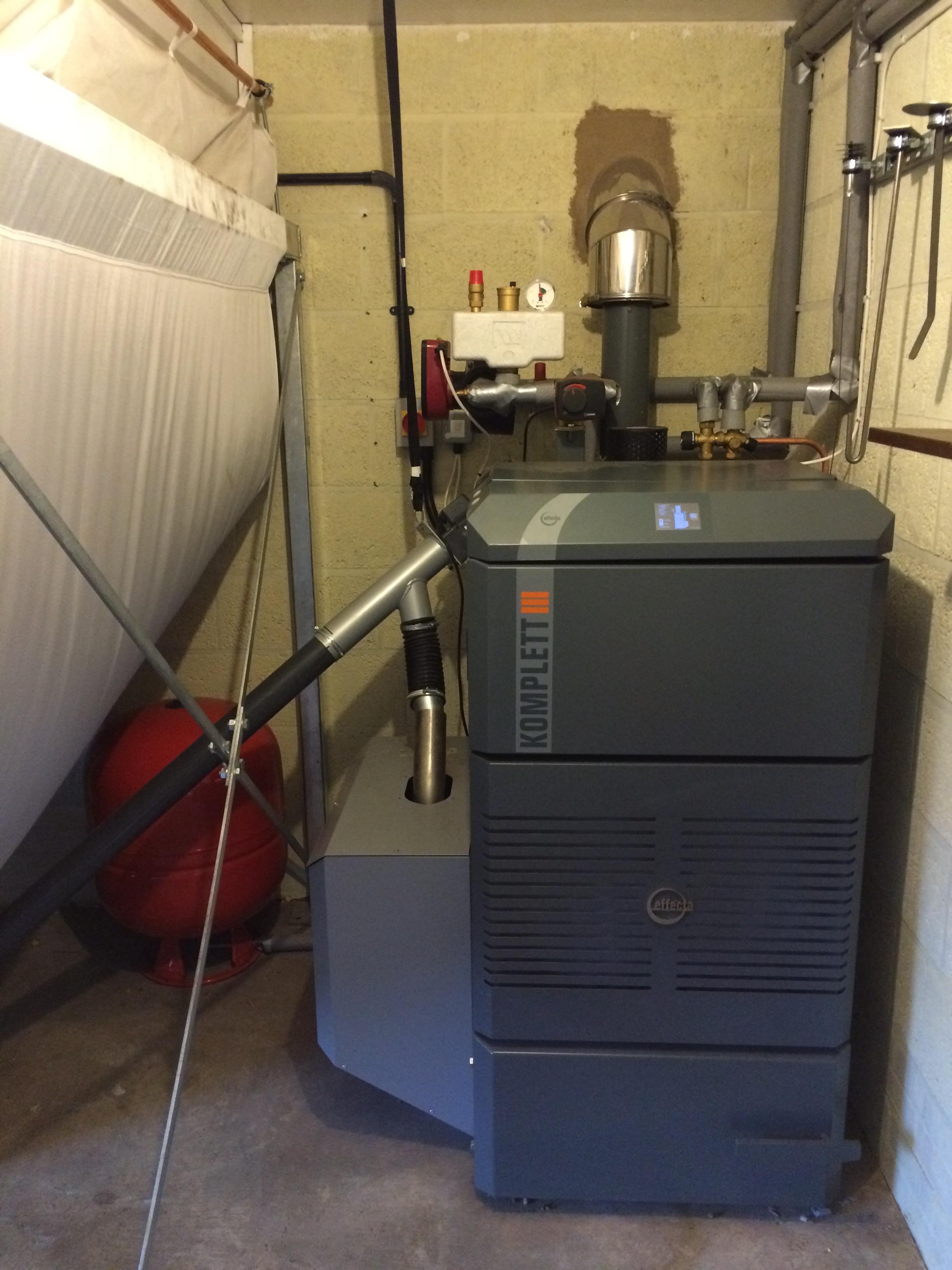 Effecta Komplett III Biomass Boiler