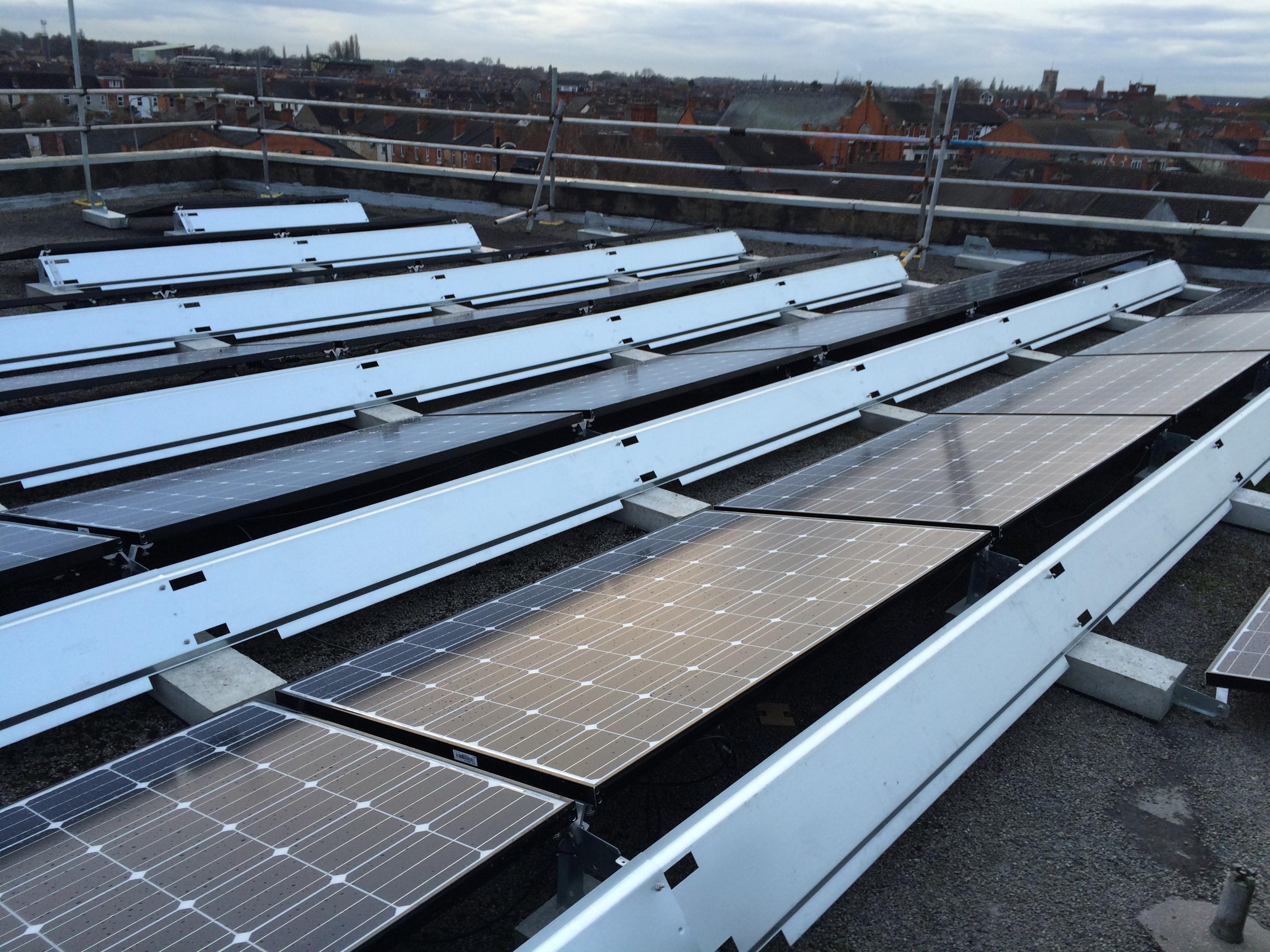 Business Solar PV Lincolnshire LG Panels