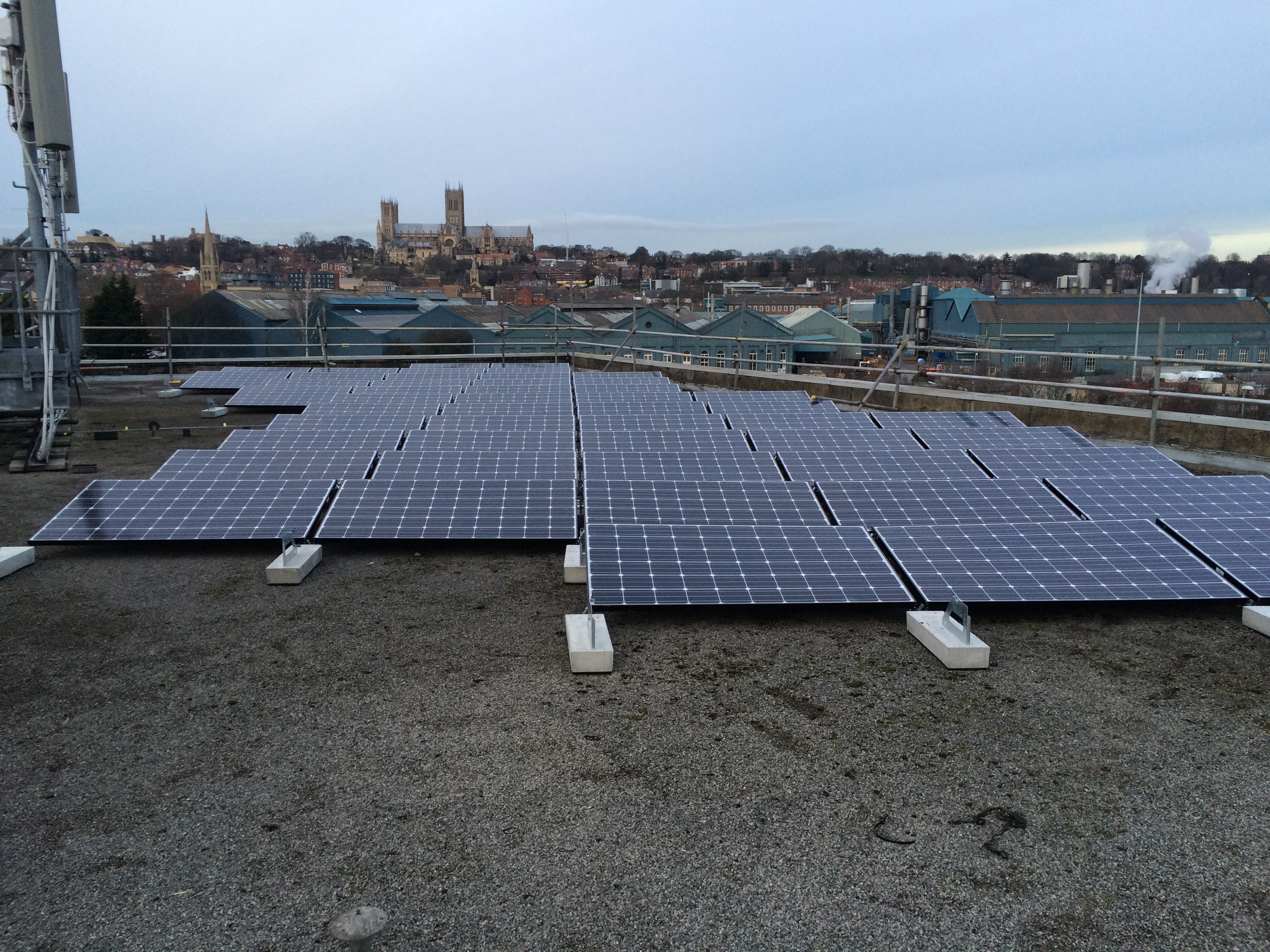 commercial solar panel installation pelham centre lincoln energymyway. Black Bedroom Furniture Sets. Home Design Ideas
