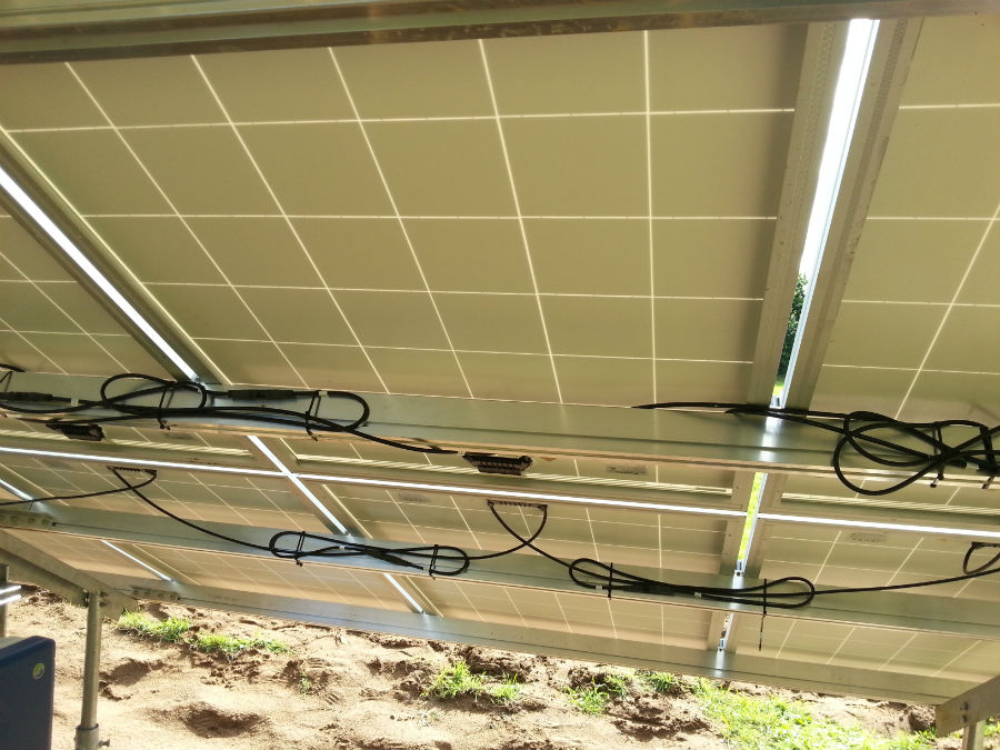 Ground Mounted Solar Panels For Listed Building In